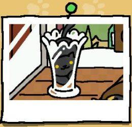 くろねこさん花瓶